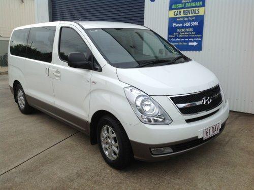 Hyundai Imax Peoplemover Rental