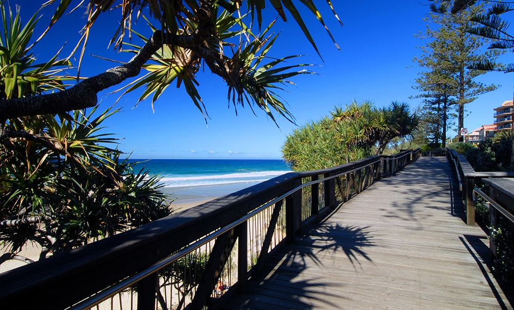 Coolum Beach Boardwalk
