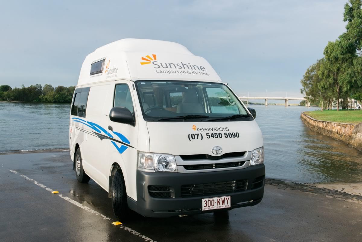 Toyota Hiace 2 berth Campervan