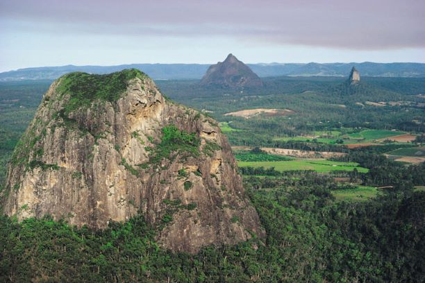Glasshouse Mountains, Queensland.
