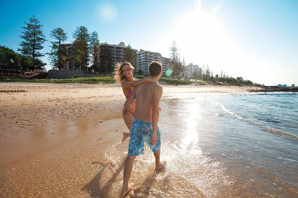 Car hire for visiting the amazing Mooloolaba Beach on the Sunshine Coast.